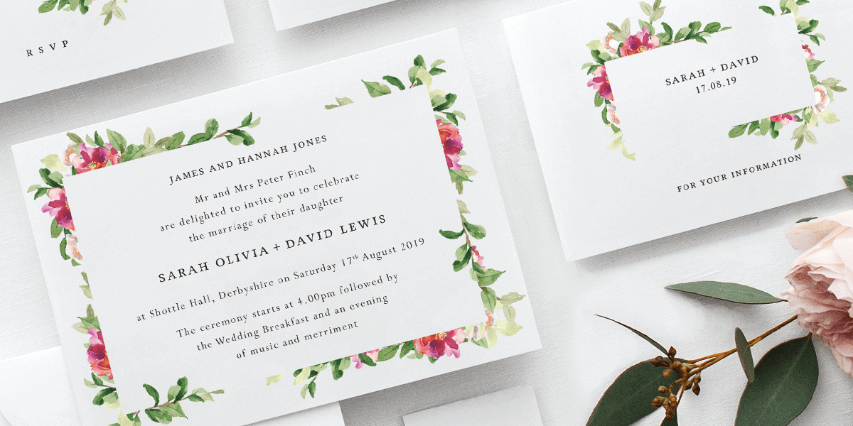 What Wedding Stationery Do I Need?